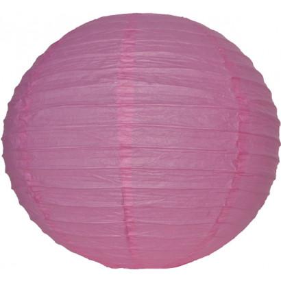 Farolillo de papel 30cm rosa
