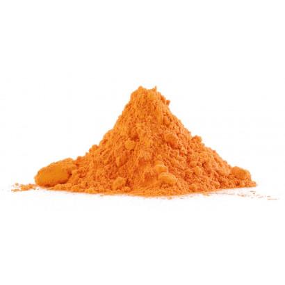 Polvo holi de color naranjado