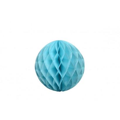 Bola de papel nido de abeja Azul 30cm