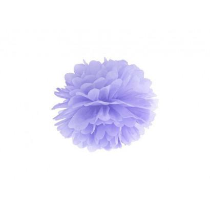 Pompón de Papel 35cm, violeta