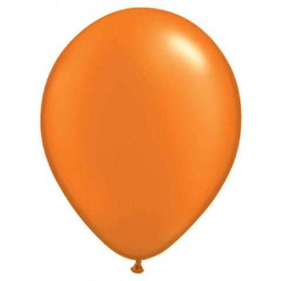 100 globos de látex - NARANJA
