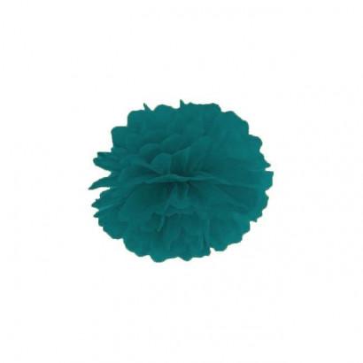 Pompón de Papel 35cm, verde