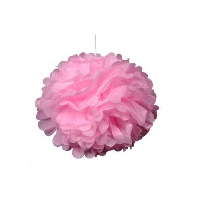 Pompón de Papel 20cm, rosa claro
