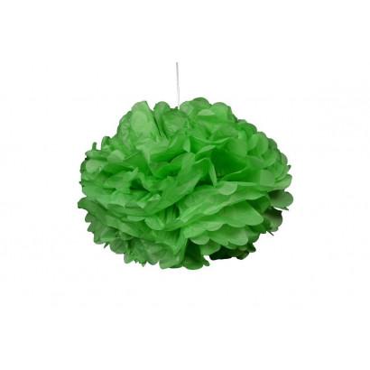 Pompón de Papel 20cm, verde claro