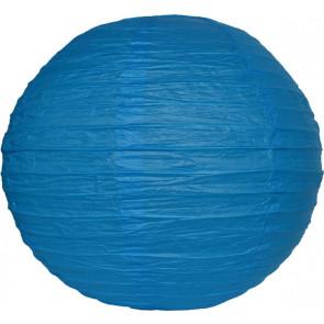 Farolillo de papel 30cm azul