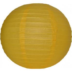 Farolillo de papel 30cm amarillo