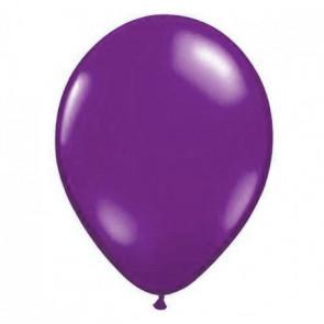 100 globos de látex – violeta