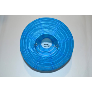 Farolillo de papel 50cm azul