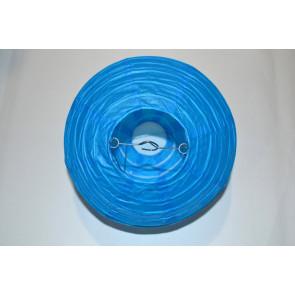Farolillo de papel 40cm azul