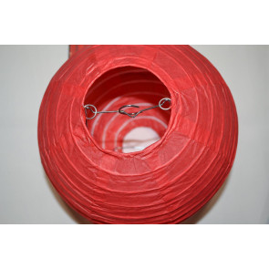 Farolillo de papel 20cm rojo