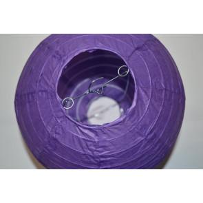 Farolillo de papel 30cm violeta