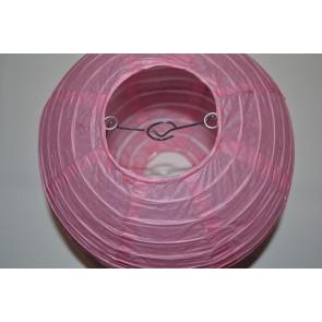 Farolillo de papel 40cm rosa