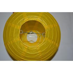 Farolillo de papel 20cm amarillo