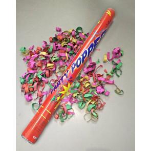 Cañon Confeti mezcla de colores 40cm