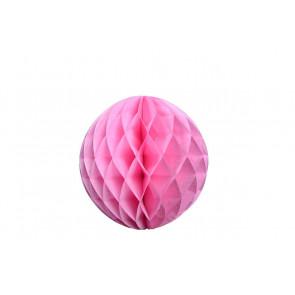 Bola de papel nido de abeja Rosa 30cm