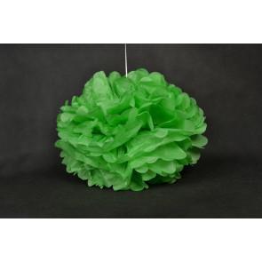 Pompón de Papel 50cm, verde